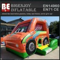 car inflatable combo bouncer slide bouncer
