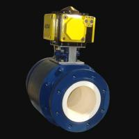 Buy cheap Ceramic Full Lined Trunnion Mounted Ball Valve from wholesalers