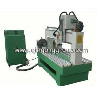 Buy cheap CNC Two Heads Gravure Cylinder Engraving Wood Router W1203R2 from wholesalers