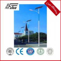 6-12 meters Solar Power Energy Street Light Pole Manufactures