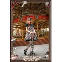 Buy cheap Lolita Dresses Infanta Rabbit and Poker High Waist Peter Pan Collar Short Sleeves OP from wholesalers