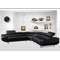 Buy cheap L Shaped&Corner Sofa Black sofa living room ideas 962 from wholesalers