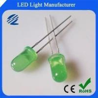 super bright 5mm LED green 14000-16000MCD Manufactures