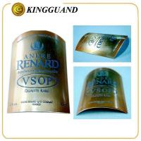 Wholesale VOSP high end metal private brand liquor whisky label from china suppliers
