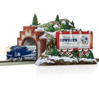 Buy cheap Accessories Train Accessory: NFL Dallas Cowboys Christmas Mountain Tunnel by Hawthorne Village from wholesalers