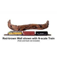 Buy cheap Accessories A Model Railroad - Red-brown Wall from wholesalers