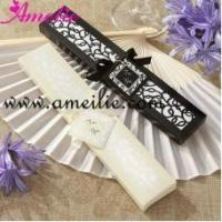 Buy cheap AF144 Popular Silk Fan Personalized Wedding Favors from wholesalers
