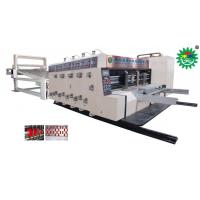Buy cheap Automatic printing & slotting & die-cutting machine from wholesalers