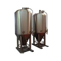 2000L stainless steel beer fermentation tank with insulating layer