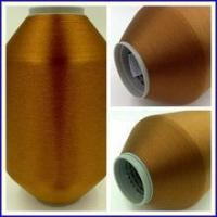 Buy cheap Taffeta Polyester Color Weft Yarn 100D 130TPM product