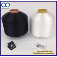Wholesale 50D/600TPM Semi Dull(SD) Polyester FDY Warp Yarn for making woven label from china suppliers
