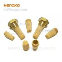 Pneumatic parts sintered bronze silencer for exhaust system Manufactures
