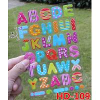 Wholesale Crystal Sticker Foam Sticker Letters from china suppliers