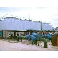 Buy cheap Disinfectiondevice Square counterflow FRP cooling tower in high temperature from wholesalers