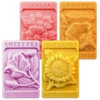 Buy cheap Soap & Toiletry Supplies Vintage Flower Seeds Soap Mold from wholesalers