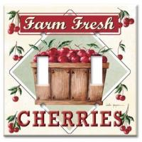 Beverage & Food Wall Plates Farm Fresh Cherries Manufactures