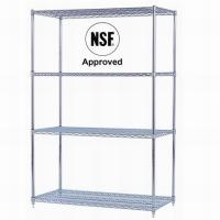 Wholesale Checkout/Cashier Counters MJY-FWS-01 Chrome wire shelving from china suppliers