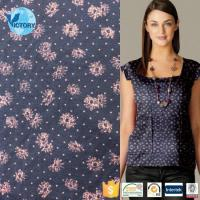 Buy cheap Polyester Spandex Coarse Needle Printed Single Jersey Fabric product