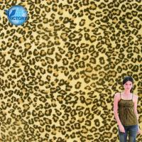 Wholesale Quality Guaranteed Fabric Weft Knitted Pique Mesh Leopard Printed Organic Cotton Fabric Wholesale from china suppliers