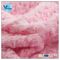 Buy cheap knit fabric 100% Polyester Warp Knitted PV Plush Fabric for Making Soft Toys product