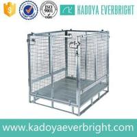 Wholesale Warehouse galvanized stackable storage metal container from china suppliers
