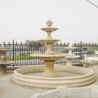 Buy cheap Marble sculpture buddha water fountain with high quality from wholesalers