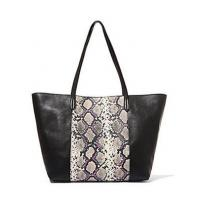 python skin leather bags for women