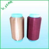 Wholesale polyester bright color trilobal yarn 60D/4F from china suppliers