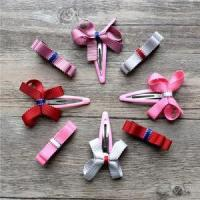 Buy cheap Girls Fashion Ribbon Bow Hair Clips from wholesalers