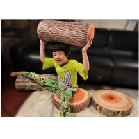 Buy cheap Creative environmental protection car pillow lovers plush toy bear infested tree wooden pillow from wholesalers