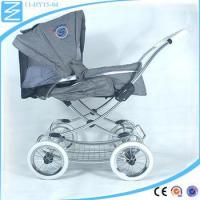 Buy cheap Four wheels baby caster trolley easy folding high landscape baby jogger stroller from wholesalers