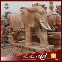 Buy cheap Garden Customize Size Africa Marble Elephant from wholesalers