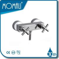 Buy cheap 2 handle shower faucets M41042-858C from wholesalers