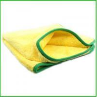 Buy cheap Car Washes Microfiber Super Towel,Warp Knitted Terry Cloth Wholesale from wholesalers
