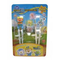 Wholesale Pororo, The Little Penguin Two Stage Right Handed Edison Chopsticks from china suppliers