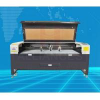 Buy cheap Metal and nonmetal cutting equipment 3 heads CNC co2 laser cutting machine for from wholesalers