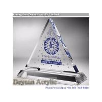 Prismatice diffuser sheet Crystal Acrylic Trophy With Logo
