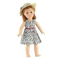Wholesale 18-inch Doll Clothes - Tank Dress with Straw Hat - fits American Girl  Dolls from china suppliers