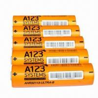 Buy cheap High drain lifepo4 battery ANR32113M1 4400mah 3.2V for A123 system from wholesalers