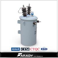 Buy cheap single phase overhead distribution transformer(D9) from wholesalers