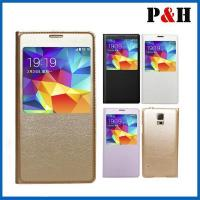 Buy cheap Leathercase Fashion flip leather case for samsung s5 mobile phone case cell phone case from wholesalers