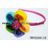 Buy cheap Head Bands Crochet flower headband from wholesalers