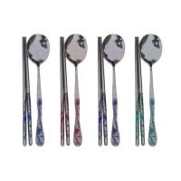 Classical handle spoon and chopsticks Manufactures