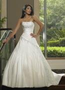 Wholesale A-line(Princess) Applique Satin Wedding Dress from china suppliers