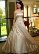 Wholesale A-line(Princess) Satin Wedding Dress from china suppliers
