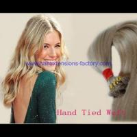Buy cheap Wholesale hand tied weft hair,all size and colors are welcomed from wholesalers