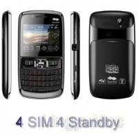 Buy cheap 4 Sim 4 standby mobie phone from wholesalers