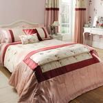 Buy cheap Super king size bedding set - Gardinia Pink from wholesalers