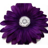 Beaded Flower Hair Clip Manufactures