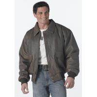  Leather Flight Jackets A-2 Brown Leather Jacket Manufactures